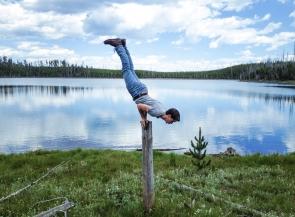 John Lyke, Yellowstone National Park shoot with Mikesbutt.com
