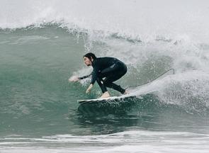 John Lyke, Surf, Swiss Magazine photoshoot with Joyce Kim