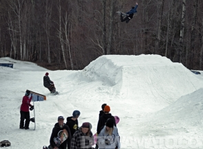 John Lyke, Snowboard, Sugarbush VT shoot with Drew Amato