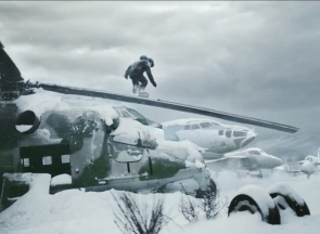 John Lyke, Nike Olympics commercial still