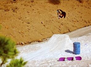 John Lyke, Mt Hood Oregon summer tour with Rhythm Snowboards